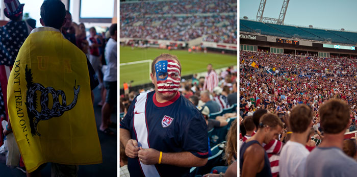 a full stadium usa vs scotland in jacksonville florida at everbank field
