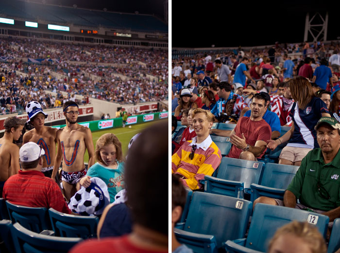 the fans usa vs scotland in jacksonville florida at everbank field