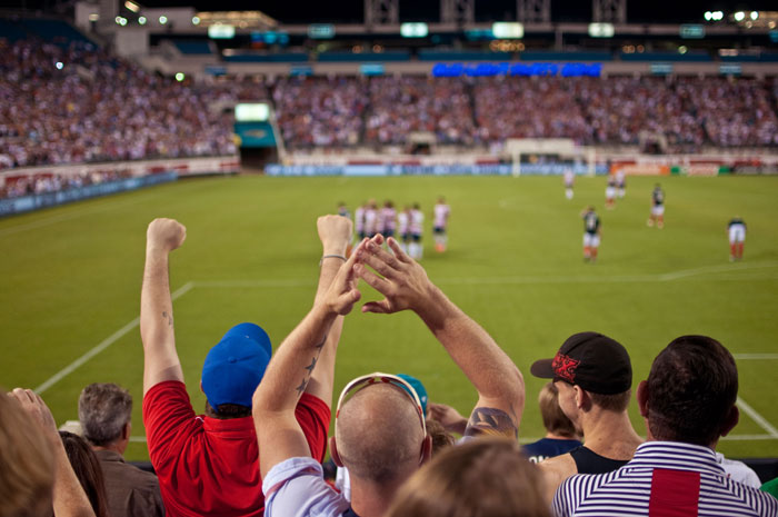 5th goal for the us usa vs scotland in jacksonville florida at everbank field