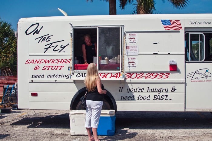 on the fly food truck save the ferry keep jacksonville florida ferry fest in mayport village