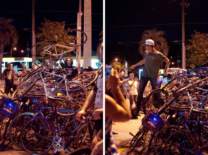 TuNiBiRi! presents Riverside Invasion: Round II TuNiRiSiBiRi jacksonville florida ride bikes bicycles how many bikes can you fit in a parking spot