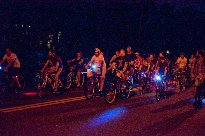 TuNiBiRi! presents Riverside Invasion: Round II TuNiRiSiBiRi jacksonville florida ride bikes bicycles riding down post park street night