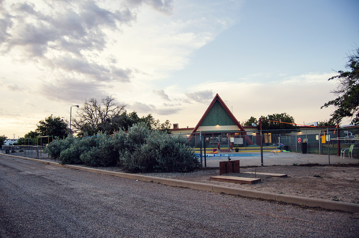 Alamogordo New Mexico KOA road trip america go west sisters camping