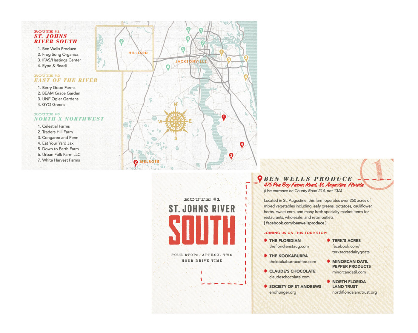 tour de farm by slow food first coast branded by brittany norris